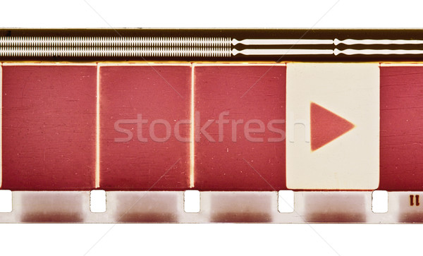 Film beweging filmstrip monster frames spelen Stockfoto © donatas1205