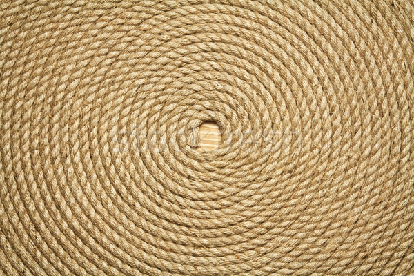 Stockfoto: Oude · touw · rollen · ruw · textuur · tabel