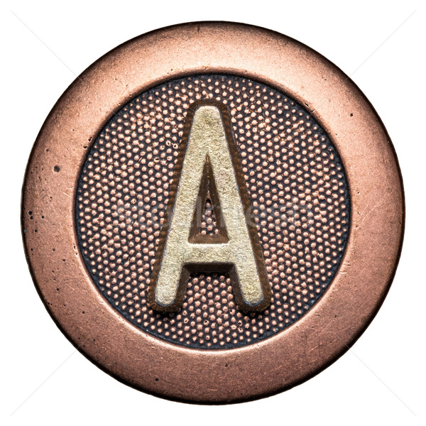 Button alphabet Stock photo © donatas1205