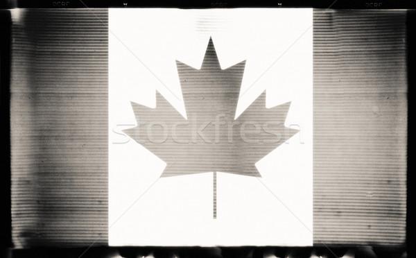 Canada flag Stock photo © donatas1205