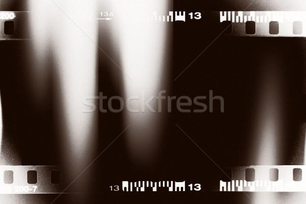 ışık sızıntı filmstrip dizayn çerçeve sanat Stok fotoğraf © donatas1205