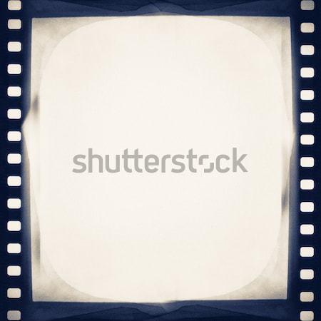 Film lege filmstrip textuur ontwerp kunst Stockfoto © donatas1205