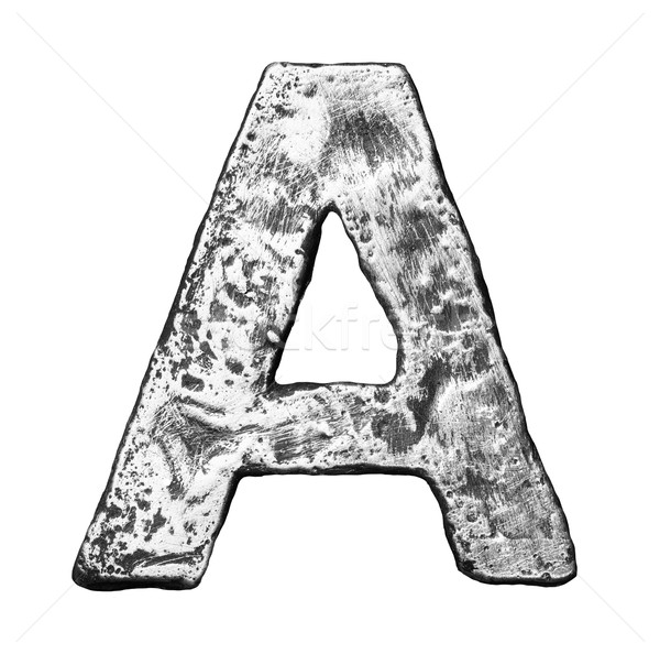 Metal letter Stock photo © donatas1205