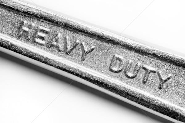 Pesado deber metal herramienta industrial servicio Foto stock © donatas1205