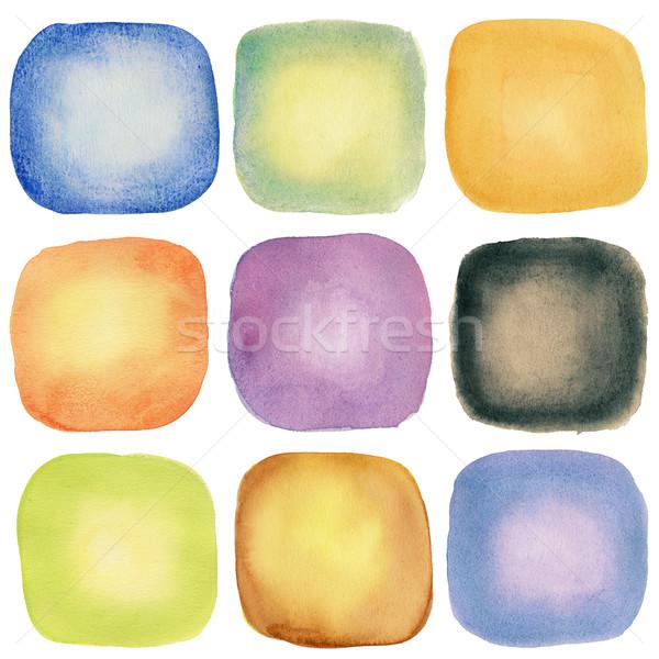 Watercolor elements Stock photo © donatas1205