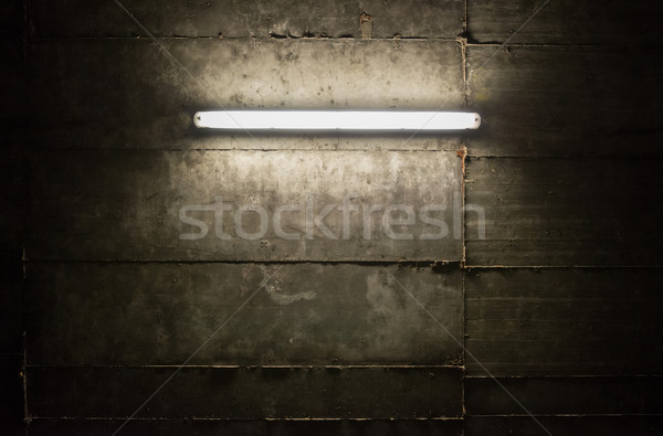 Tl licht buis muur textuur abstract Stockfoto © donatas1205