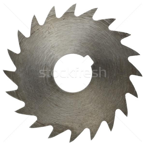 Stockfoto: Zag · mes · hout · werk · industriële