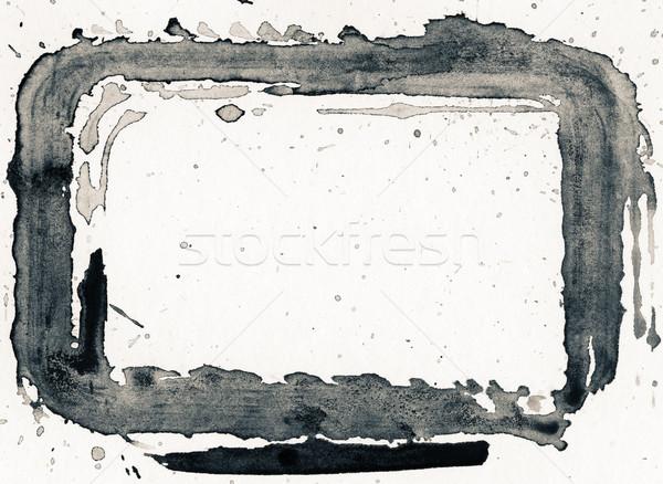Nosso textura abstrato pintado grunge papel Foto stock © donatas1205