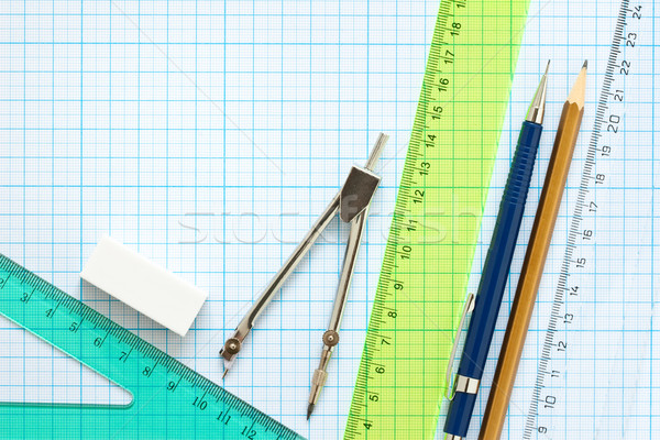 drawing tools background Stock photo © donatas1205