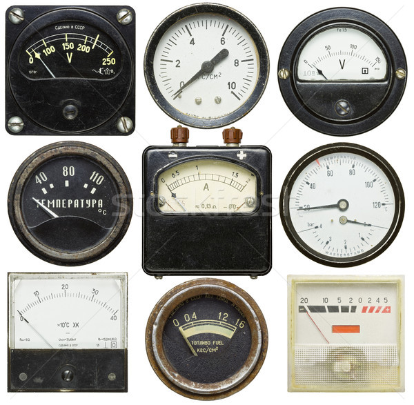 Old gauges Stock photo © donatas1205