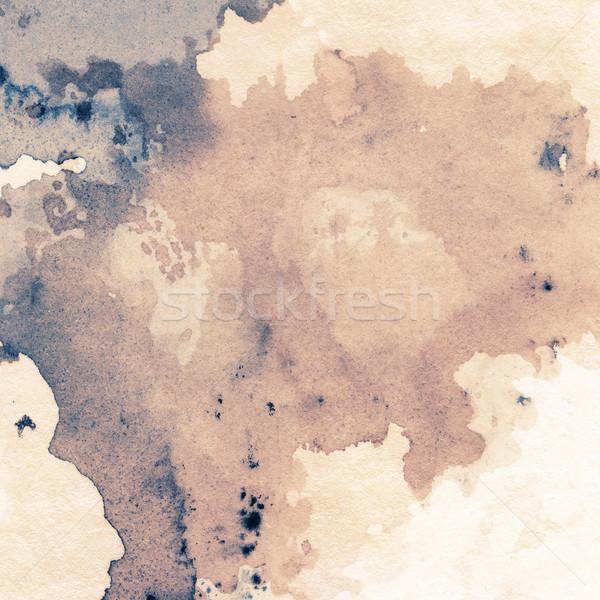 Tinta textura resumen pintado grunge papel Foto stock © donatas1205