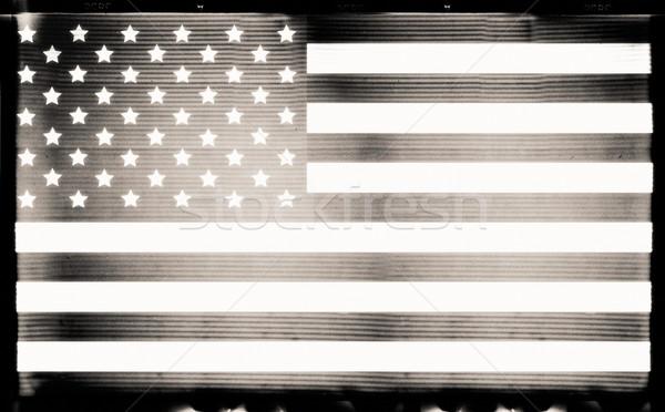 USA flag Stock photo © donatas1205