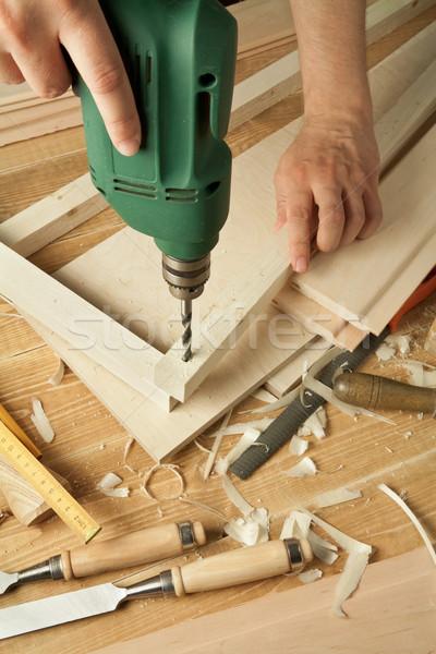 Wood working Stock photo © donatas1205