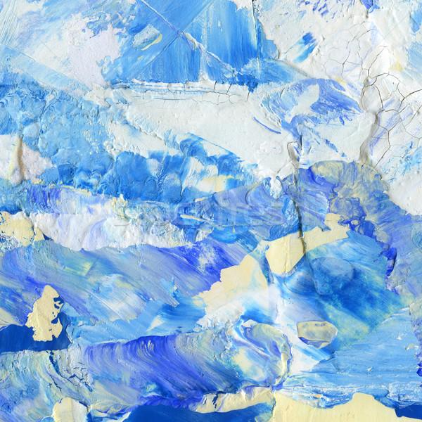 Acrylique résumé main peint texture art Photo stock © donatas1205