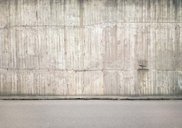 Stock photo: Wall background
