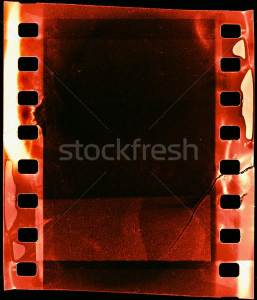 ışık sızıntı grunge film şeridi dizayn sanat Stok fotoğraf © donatas1205