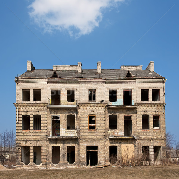 Abandoned damaged Stock photo © donatas1205