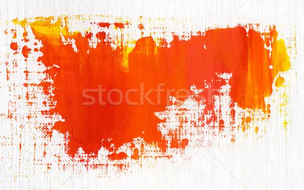 Acrylique main peint texture peinture Photo stock © donatas1205