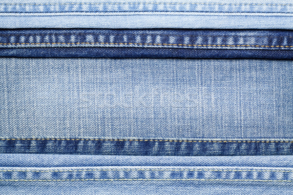 Stock photo: Jeans texture