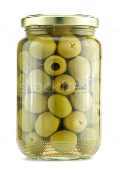 Green olives Stock photo © donatas1205