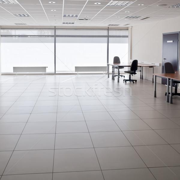 Vide bureau modernes intérieur affaires bois Photo stock © donatas1205
