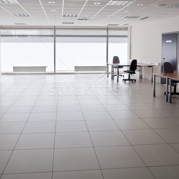 Boş ofis modern iç iş ahşap Stok fotoğraf © donatas1205