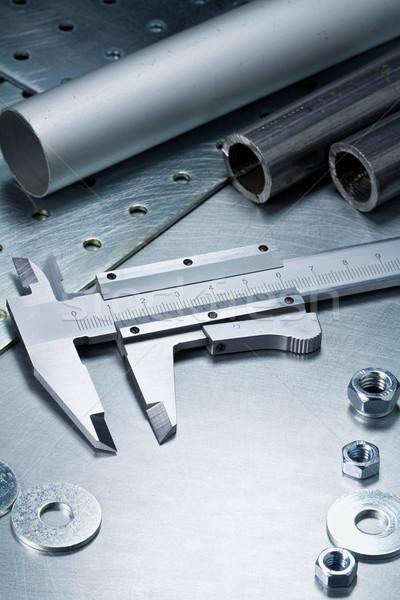 Métal outils travaux acier construction Photo stock © donatas1205