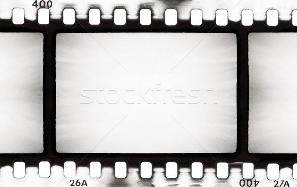 Filmszalag üres terv háttér művészet mozi Stock fotó © donatas1205