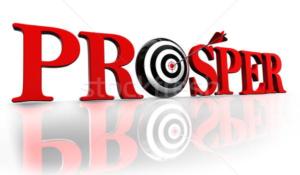 prosper target Stock photo © donskarpo
