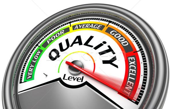 quality level meter Stock photo © donskarpo