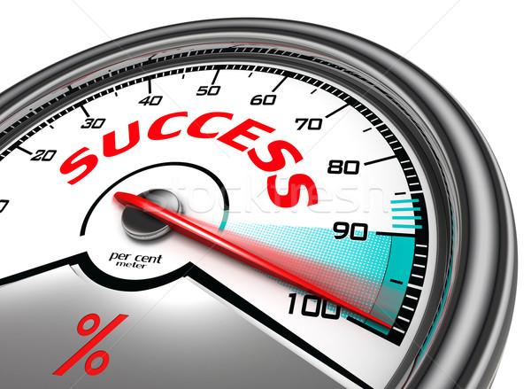 success conceptual meter Stock photo © donskarpo