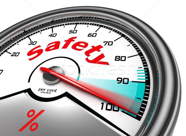safety concept meter hundred  Stock photo © donskarpo