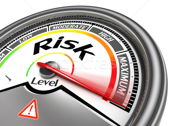 risk level conceptual meter Stock photo © donskarpo