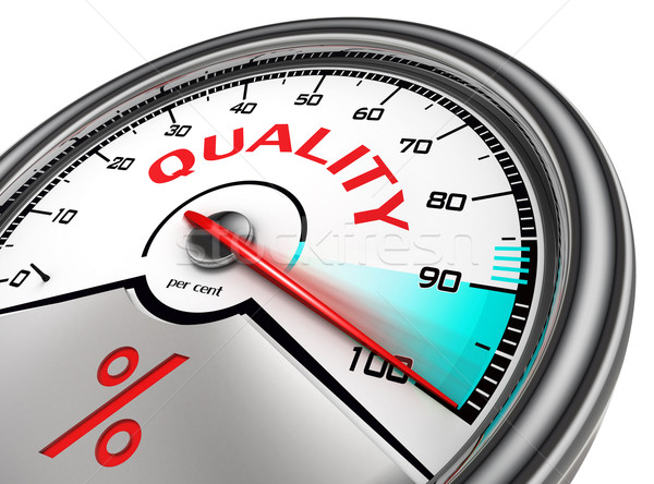 quality meter hundred per cent  Stock photo © donskarpo