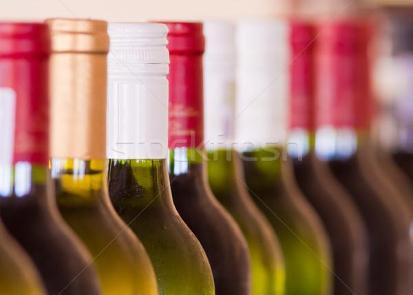 Bottles of Wine Stock photo © Donvanstaden
