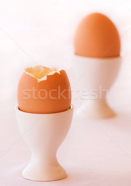Boiled Egg Stock photo © Donvanstaden