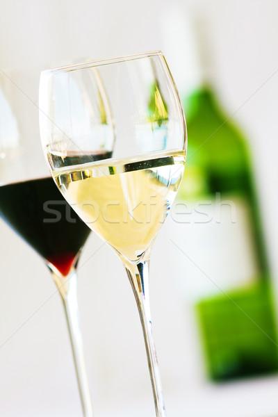 Glasses of wine Stock photo © Donvanstaden