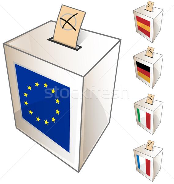 european urn symbol Stock photo © doomko