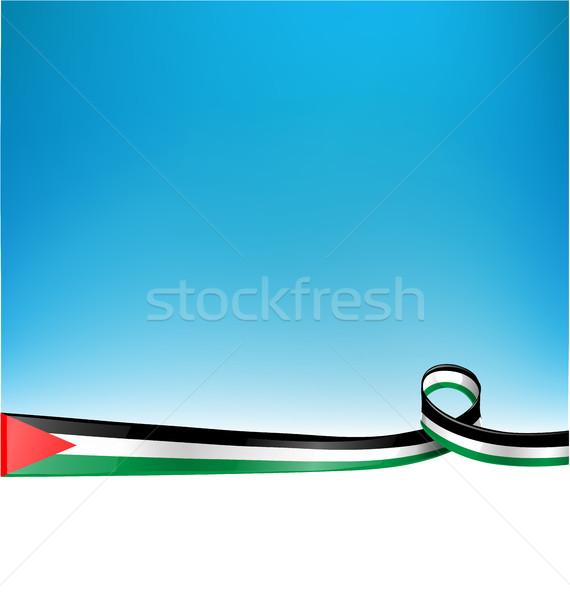 フラグ 青空 デザイン 背景 色 平和 ストックフォト © doomko