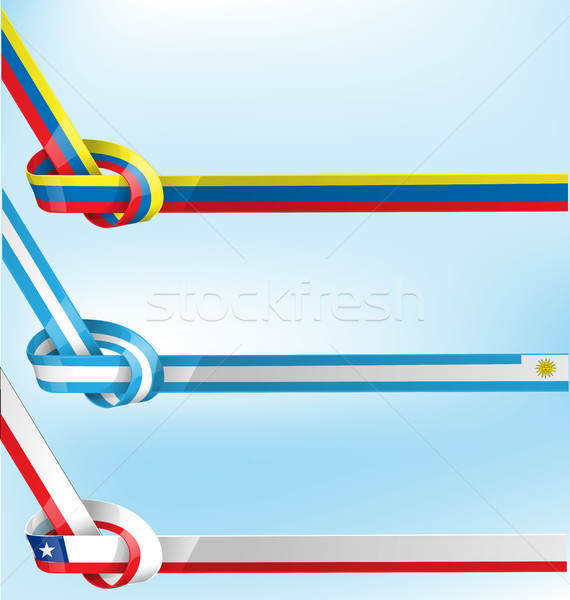 Vlag business krant kaart witte cool Stockfoto © doomko