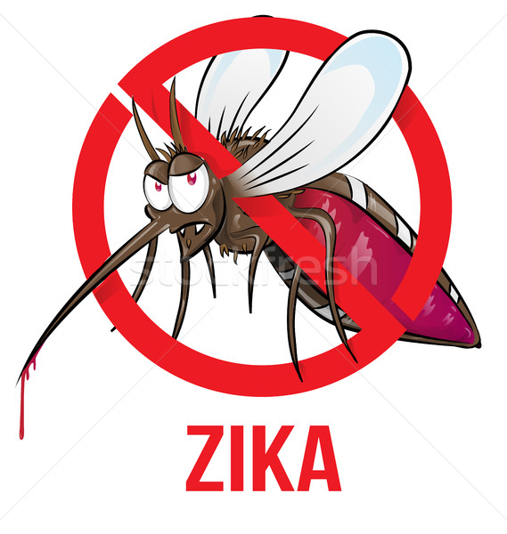 mosquito zika  Stock photo © doomko