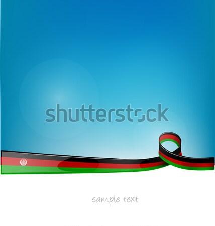 Suriye bayrak spor dizayn kan sanat Stok fotoğraf © doomko