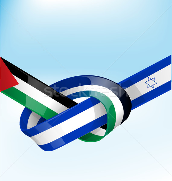Israel fita bandeira textura parede abstrato Foto stock © doomko