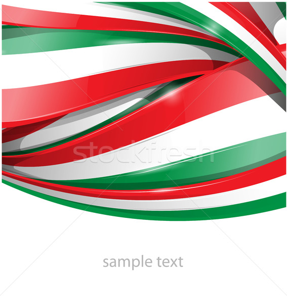 italianflag set [Convertito] Stock photo © doomko