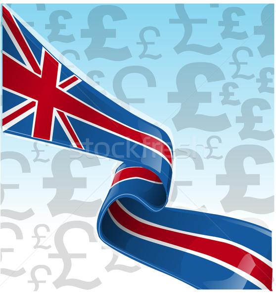 Verenigd Koninkrijk uitgang Europa achtergrond teken vlag Stockfoto © doomko
