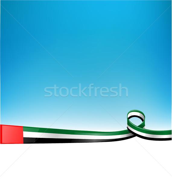 フラグ テクスチャ にログイン 雲 風 リボン ストックフォト © doomko