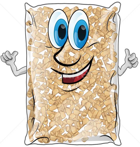 pellet bag isolated Stock photo © doomko