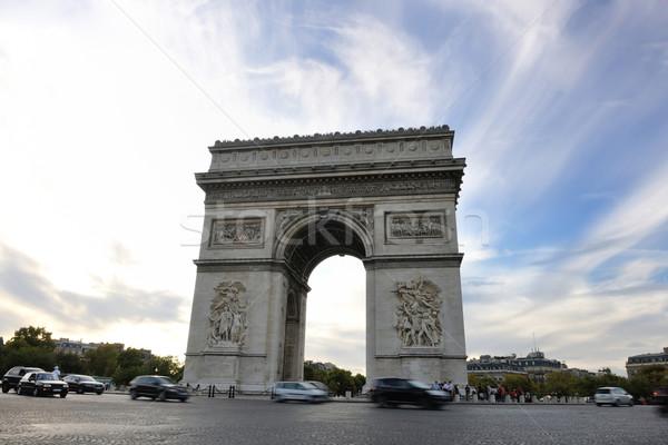 Arc de Triomphe, Paris,  France Stock photo © dotshock