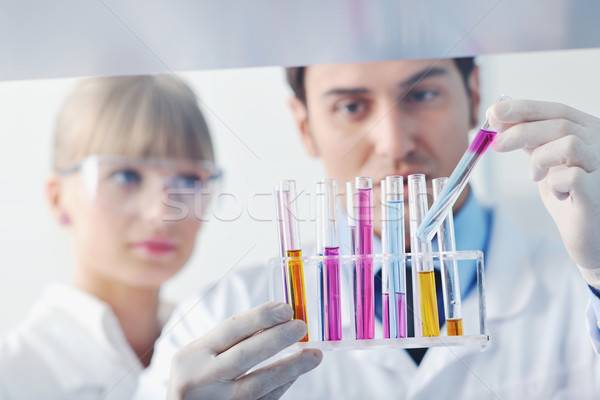 Сток-фото: науки · люди · ярко · лаборатория · исследований · биологии
