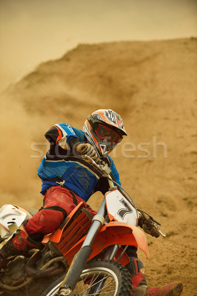 motocross bike Stock photo © dotshock